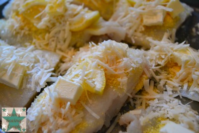 ... lemon crusted fish Lemon Parmesan Herb Crusted Fresh Baked Cod Fish