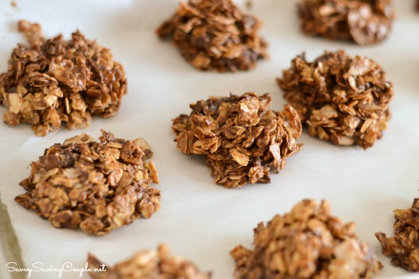 No Bake Gluten Free Healthy Oatmeal Power Cookies - Savvy Saving ...