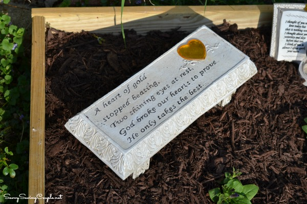 How to Make Your Own Memorial Garden on a Budget Savvy Saving – Memorial Garden Bench