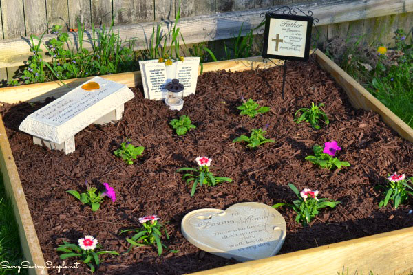 Memorial Garden Ideas How to make your own memorial garden on a budget savvy saving couple memorial garden workwithnaturefo