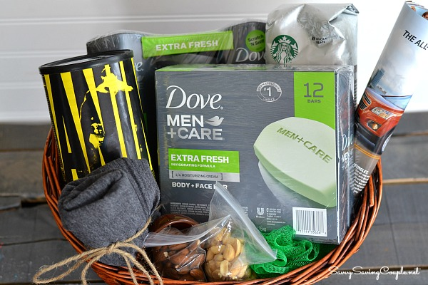 DIY Father's Day Gift Basket with Dove Men + Care ⋆ Savvy Saving ...