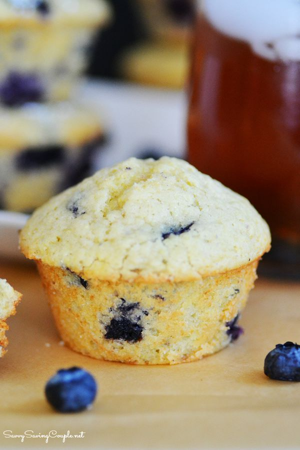 Lemon Blueberry Muffins and a Refreshing Sangria Iced Tea - Savvy ...